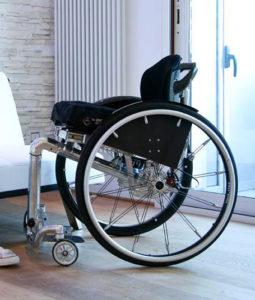 carrozzina per disabili manuale MONO One for all