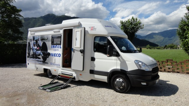 allestimento camper disabili, camper accessibili e caravan