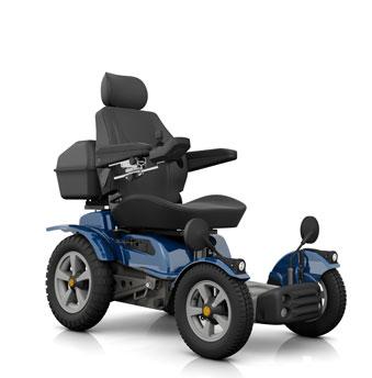 carrozzine off-road X850 CS di Disabili Abili