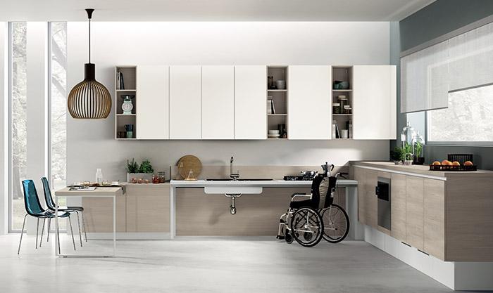 Progettiamo assieme la Cucina accessibile per Disabili ...