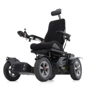 X850 Corpus Carrozzina per disabili 100% Esterni in off road