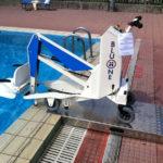 BluOne Sollevatore per piscine per trasferimento persone disabili