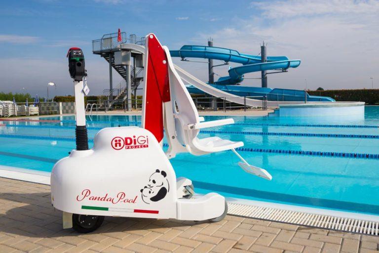 Panda Pool Sollevatore per piscine per trasferimento persone disabili
