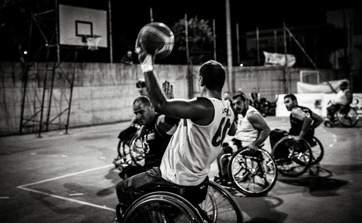 Basketball behindert