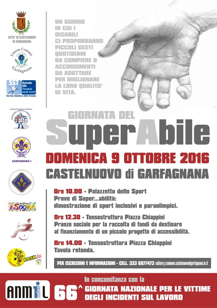 9 Ottobre Giornata del Superabile a Castelnuovo