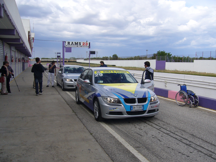 automobilismo sportivo per disabili