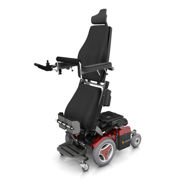 Permobil C400 VS Carrozzine con seduta verticalizzante per disabili