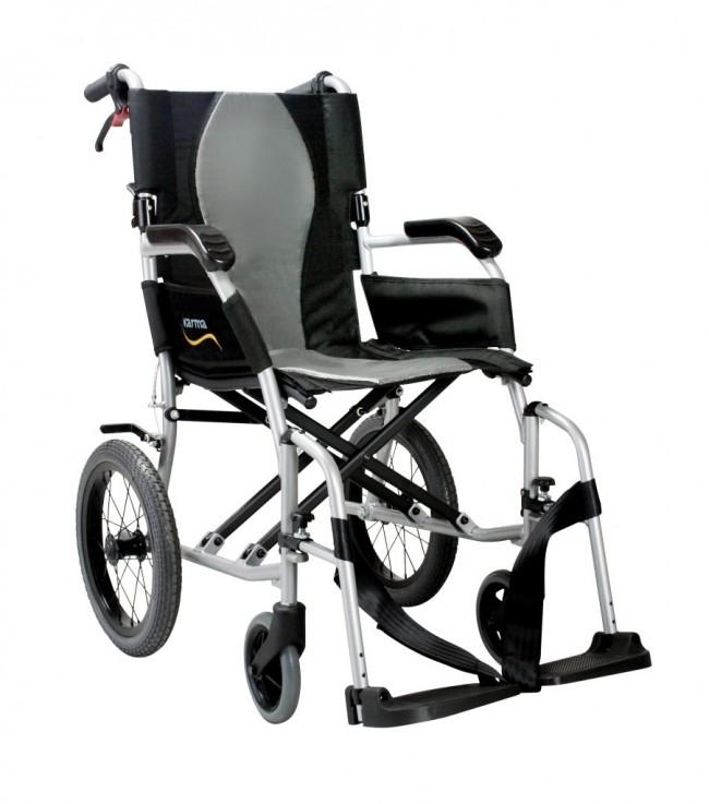 ErgoLite 1 carrozzina manuale pieghevole per disabili
