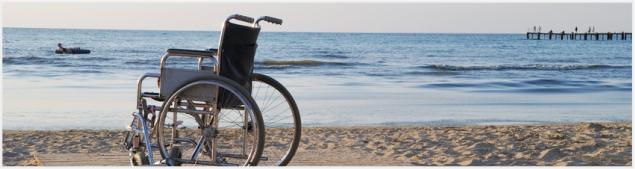 Spiagge accessibili per disabili