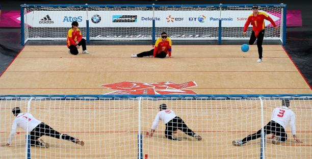 goalball per disabili