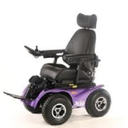 Extreme X8 Carrozzina Off road 4x4 per esterni per disabili