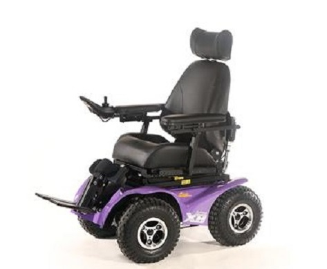 Extreme X8 Carrozzina Off road 4×4 per esterni per disabili