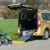 Ford Tourneo Flexi Ramp allestimento auto per disabili in carrozzina