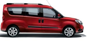 Fiat Doblo' Maxi con Pianale Ribassato per trasporti disabili in carrozzina