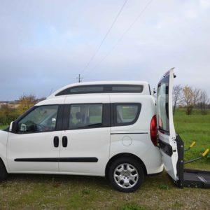 Fiat Doblò 2020 Tetto Alto per trasporto disabili