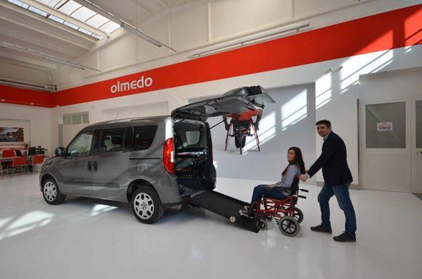 Fiat Doblò Pianale Ribassato 4+1 per trasporto disabili