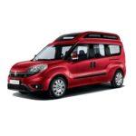Fiat Doblò tetto alto Free Family Generation trasporto disabili in carrozzina