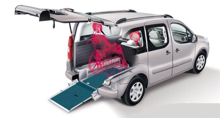 Peugeot Partner Maxi Flexi Ramp auto per disabili in carrozzina