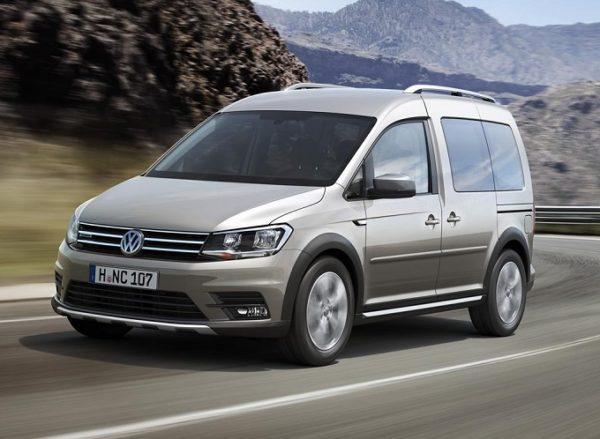 Volkswagen Caddy con allestimento Flexi Ramp per disabili in carrozzina