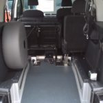Volkswagen Caddy con allestimento Flexi Ramp