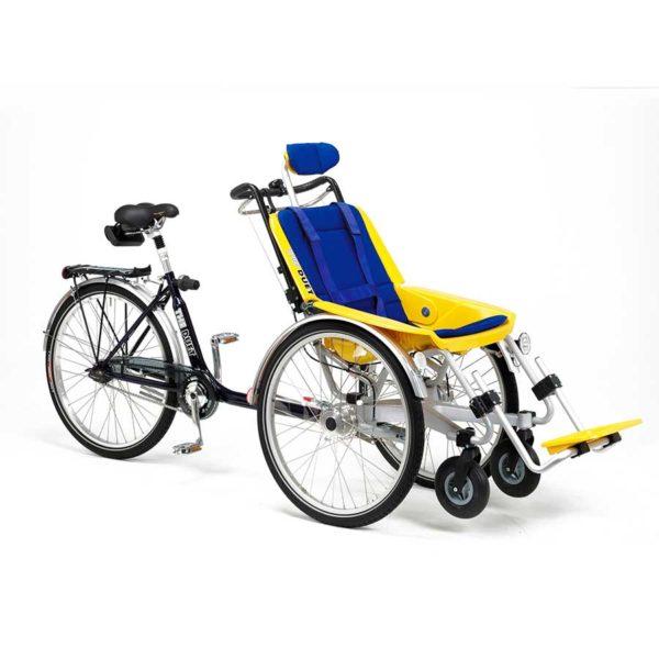 Duetto Bicicletta più Carrozzina 0