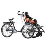 Duetto KID Bicicletta più Carrozzina 1