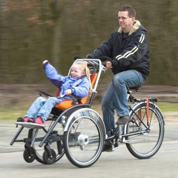 Duetto KID Bicicletta più Carrozzina 4