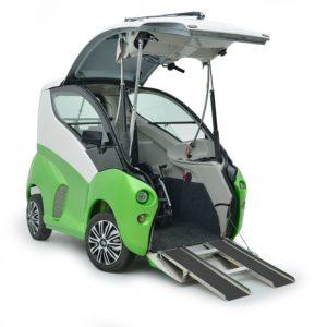 ELBEE Auto Hi-Tech per Disabili per guida in carrozzina