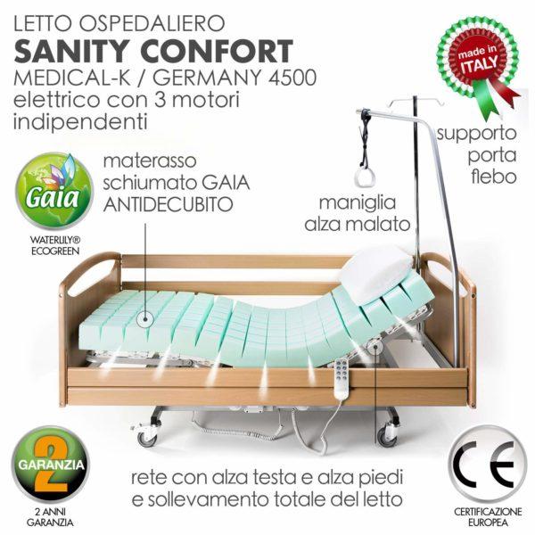 Letto Degenza Ospedaliero Ortopedico 1