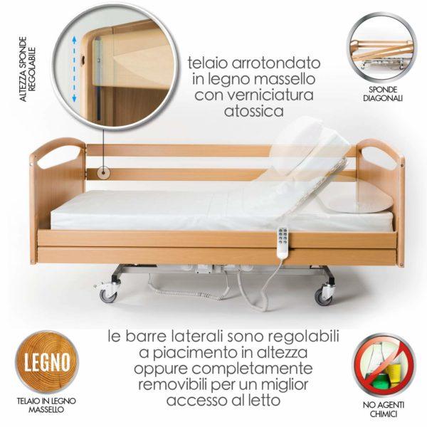 Letto Degenza Ospedaliero Ortopedico 2