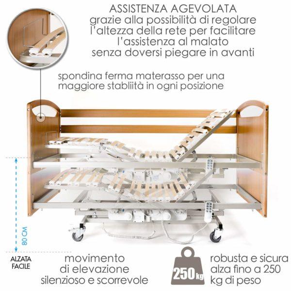 Letto Degenza Ospedaliero Ortopedico 5