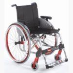 Ministar Premium Carrozzina per disabili pieghevole