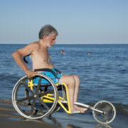 SAND&SEA Carrozzina per Spiaggia 3