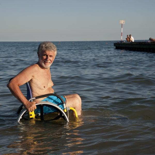 SAND&SEA Carrozzina per Spiaggia 4