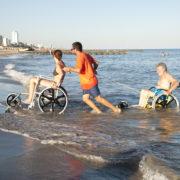 SAND&SEA Carrozzina per Spiaggia 9