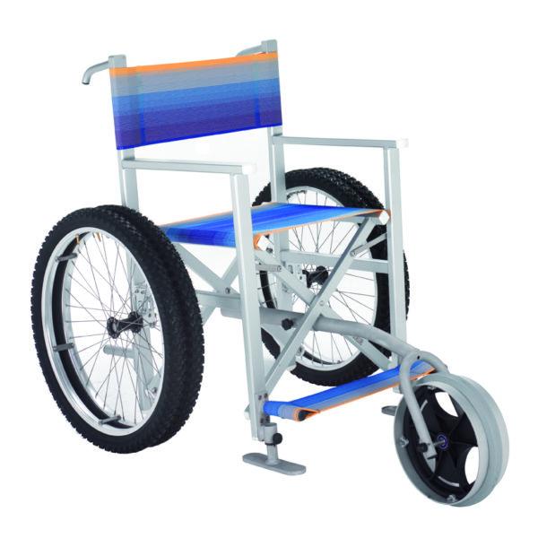 Solemare Carrozzina Per Disabili Per La Spiaggia E Il Mare
