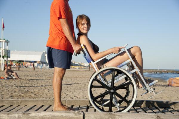 Solemare Carrozzina per Spiaggia 10