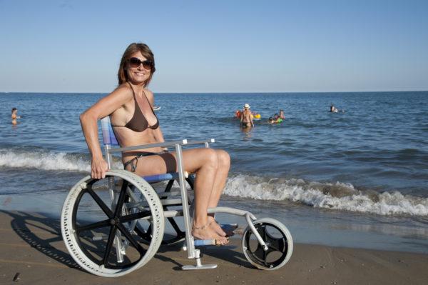 Solemare Carrozzina per Spiaggia 5