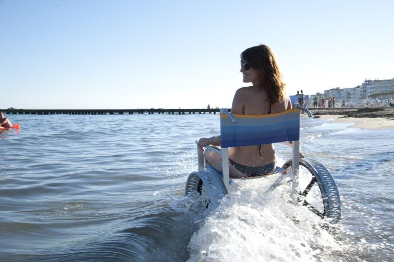 Solemare Carrozzina per Spiaggia 8
