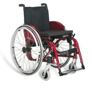 Vega.E Carrozzina per disabili Superleggera Pieghevole