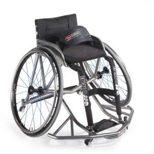 Wind Titanio Carrozzina da Basket per disabili