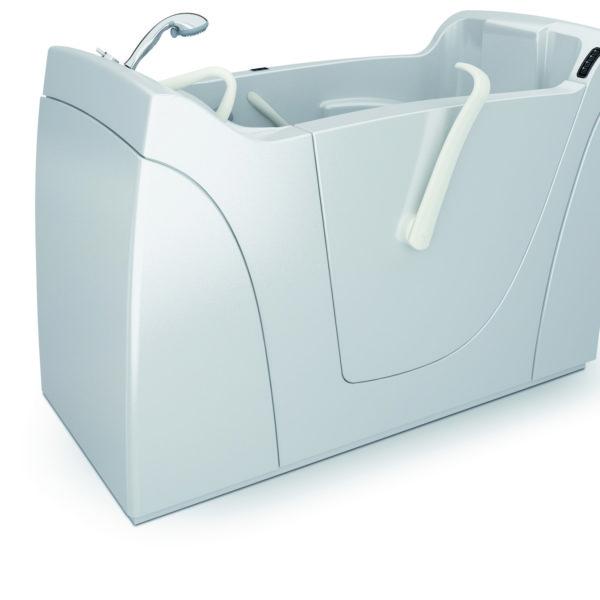 Capri vasca con sportello per disabili e anziani relax e for Tazza del bagno