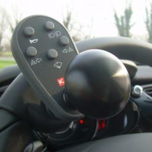 Centralina al Volante a Onde Radio per auto per disabili