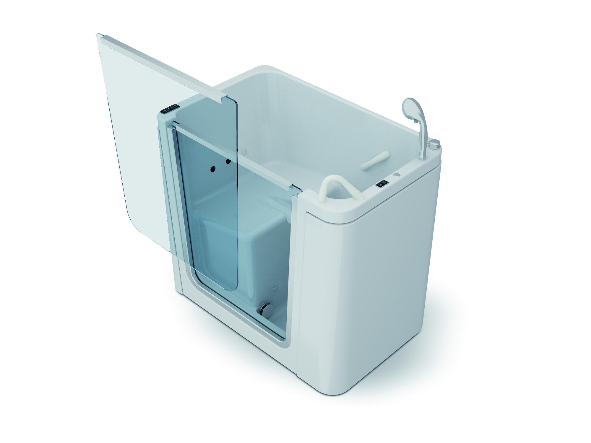 Vasca Da Bagno Rimovibile : Itaca vasca con sportello removibile per disabili e anziani