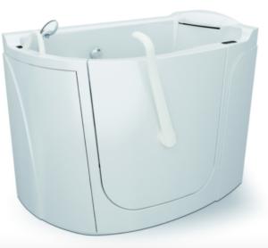 vasca da bagno per disabili con sportello