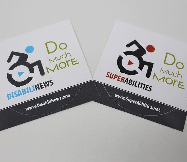 adesivi disabilinews superabilities