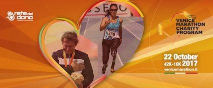 Alex Zanardi e Giusy Versace insieme per il Venicemarathon Charity Program