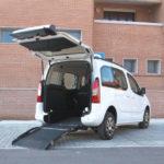 Citroen Berlingo Wav con pianale ribassato per disabili in carrozzina
