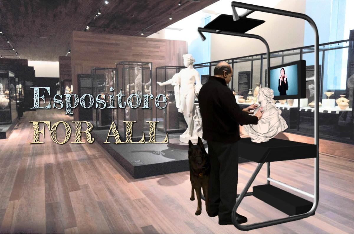 espositore for all 3D Torino