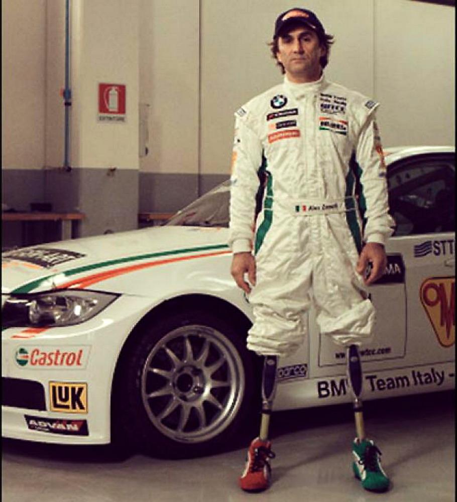 Alex Zanardi gambe